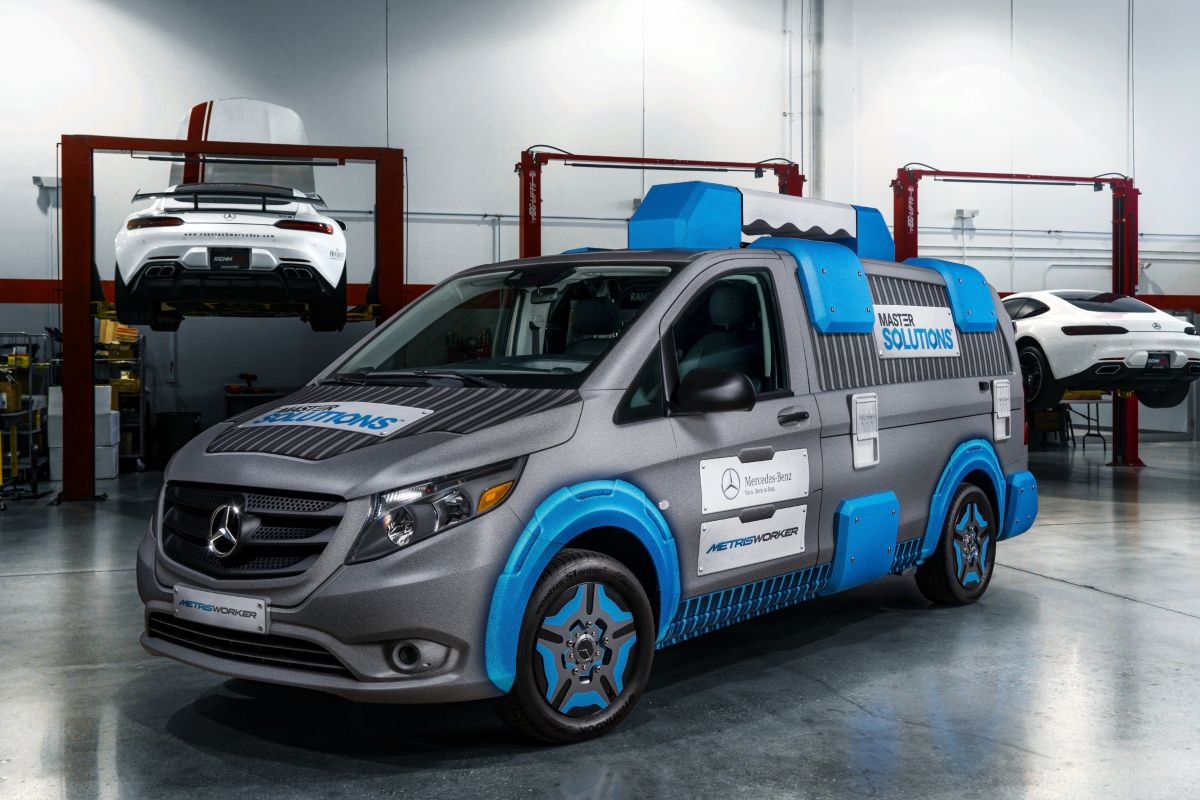 Mercedes-Benz Vito als Toolbox Concept - AutoWeek.nl