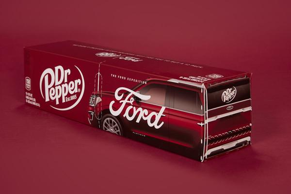 Dr. Pepper ontwikkelt speciaal 15-pack voor Ford Expedition