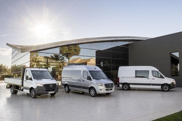 Prijzen nieuwe Mercedes-Benz Sprinter bekend