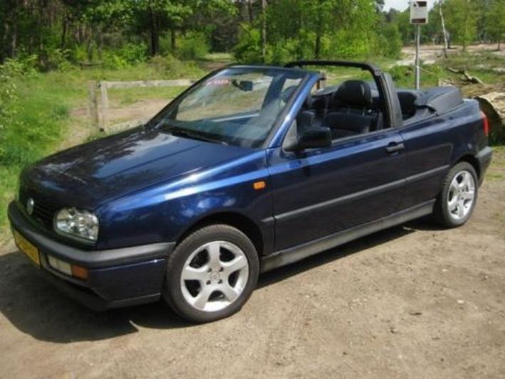 Volkswagen Golf Cabriolet 1.8 75pk (1995)