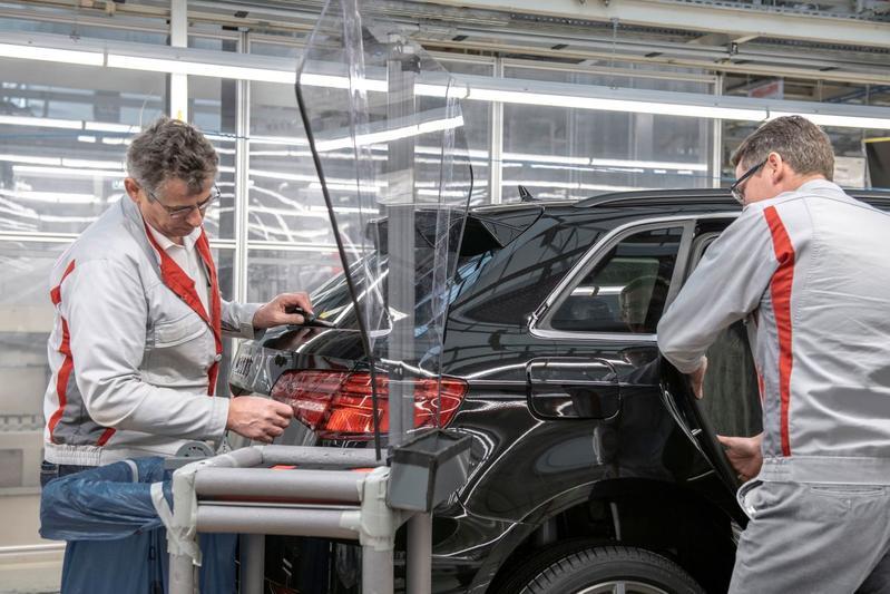 Productie fabriek Audi