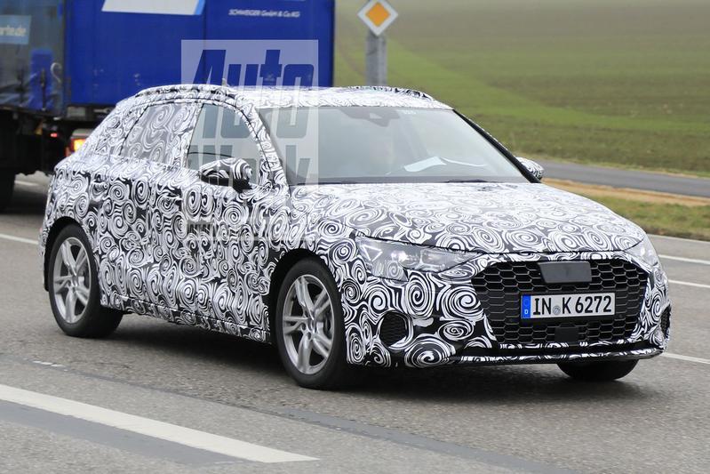 Spyshots Audi A3 Sportback