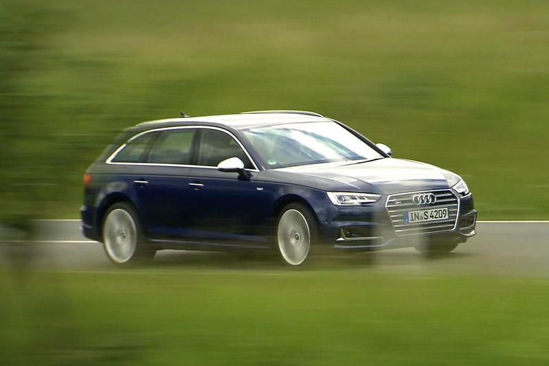 Audi S4 - Rij-impressie
