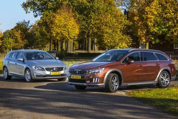 Volvo V60 D6 AWD Plug-In Hybrid - Peugeot 508 RXH Hybrid4