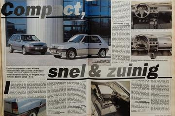 Peugeot 205 vs. Opel Corsa - Uit de Oude Doos