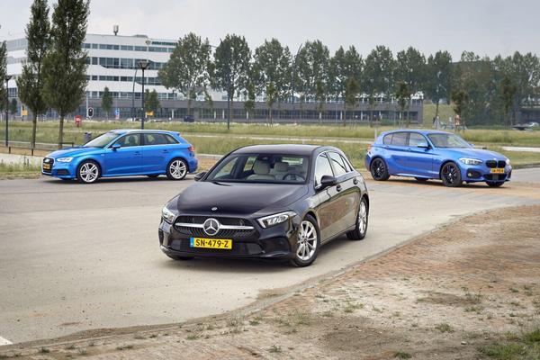 Mercedes-Benz A-klasse BMW 1-serie Audi A3 c-segme