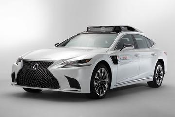 Toyota en Lexus met autonome LS naar Las Vegas