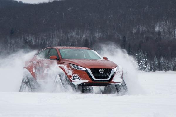 Nissan Altima-te AWD gepresenteerd