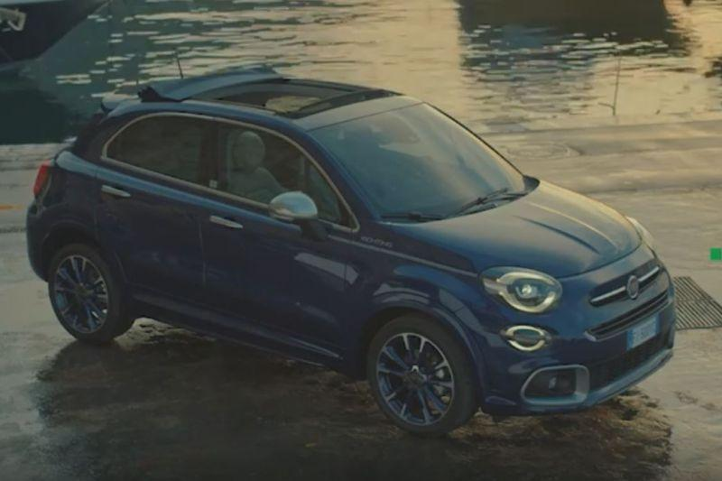 Fiat 500X Yachting (teaser)