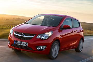 Opel Karl trappelt om A-segment te veroveren