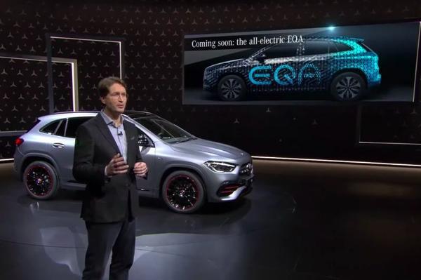 Officieel: Mercedes-Benz EQA gaat GLA achterna