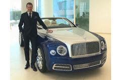 Bentley Grand Convertible 'in productie'