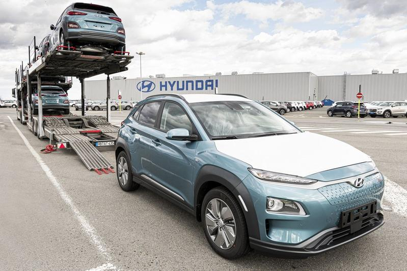 Hyundai Kona Electric productie fabriek levering
