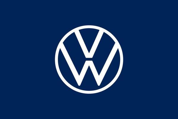 Van dichtbij: nieuw Volkswagen-logo