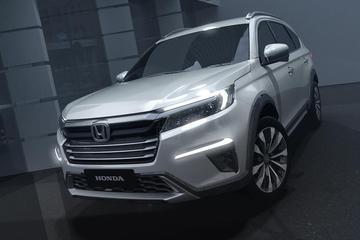 Honda N7X Concept blikt vooruit op SUV met zeven zitplaatsen