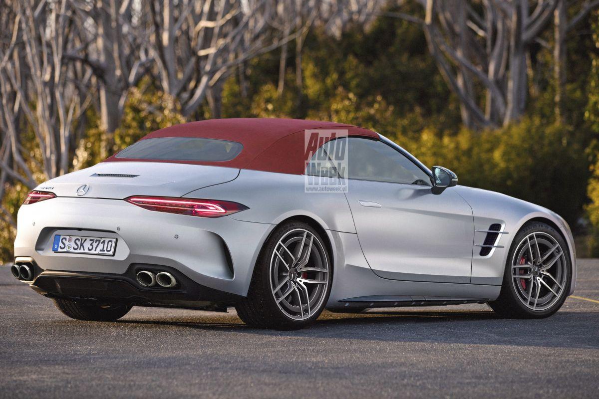 Mercedes-AMG SL render