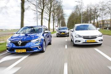 Renault Mégane TCE 205 vs. Opel Astra 1.6 Turbo vs. Mazda 3 2.0 165