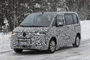 Nieuwe Volkswagen Transporter gesnapt