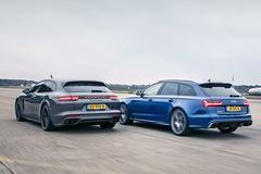 Audi RS6 Performance vs Porsche Panamera Turbo - Dubbeltest