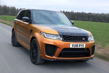 Range Rover Sport SVR - Rij-impressie