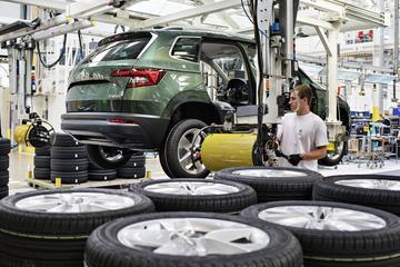 Ook Skoda gaat op 27 april weer auto's bouwen