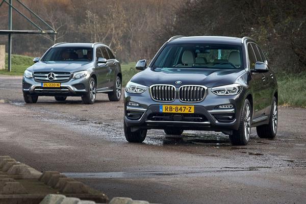 Video: BMW X3 vs. Mercedes GLC-klasse - Dubbeltest