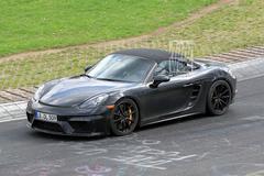 Porsche 718 Boxster Spyder jaagt over de 'Ring