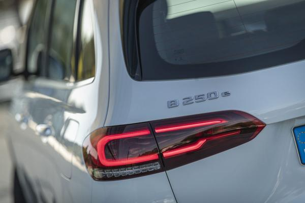 Mercedes-Benz B-klasse, CLA en GLA 250e plug-in hybride