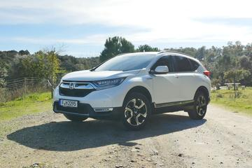 Honda CR-V Hybrid - Rij-impressie