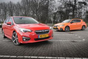 Subaru Impreza vs. Lexus CT 200h - dubbeltest
