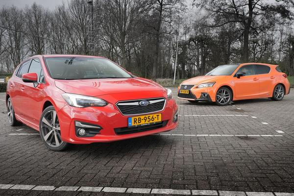 Video: Subaru Impreza vs. Lexus CT 200h - dubbeltest