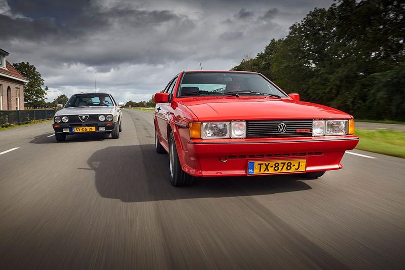 Alfa Romeo Sprint 1.7 QV vs. Volkswagen Scirocco GTX 16V - Classics Dubbeltest