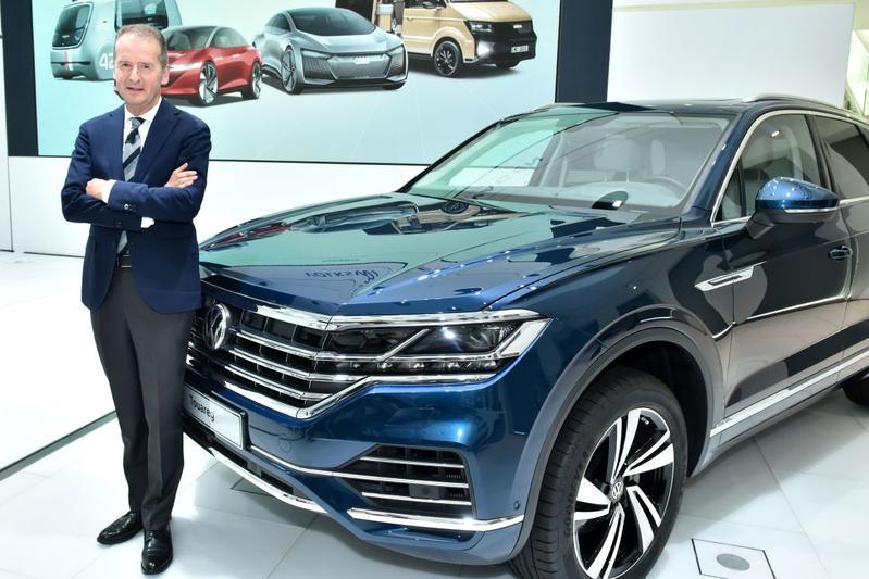 Volkswagen Herbert Diess SUV topman CEO