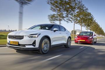 Test: Polestar 2 vs. Tesla Model 3