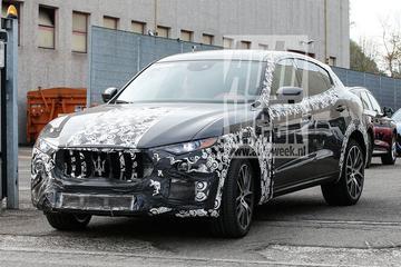 Gesnapt: mogelijke GTS voor Maserati Levante