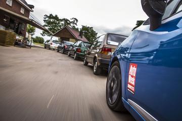 Nissan Micra ontmoet z'n voorgangers