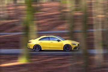 Mercedes-AMG CLA 45 S - Test