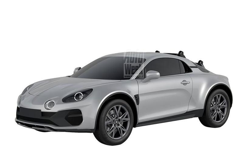 Alpine A110 SportsX patent
