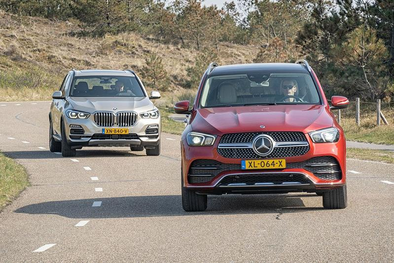 Mercedes-Benz GLE vs. BMW X5 - Dubbeltest