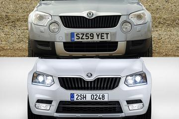 Facelift Friday: Skoda Yeti
