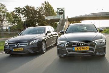 Audi A6 Avant vs. Mercedes-Benz E-Klasse Estate - dubbeltest