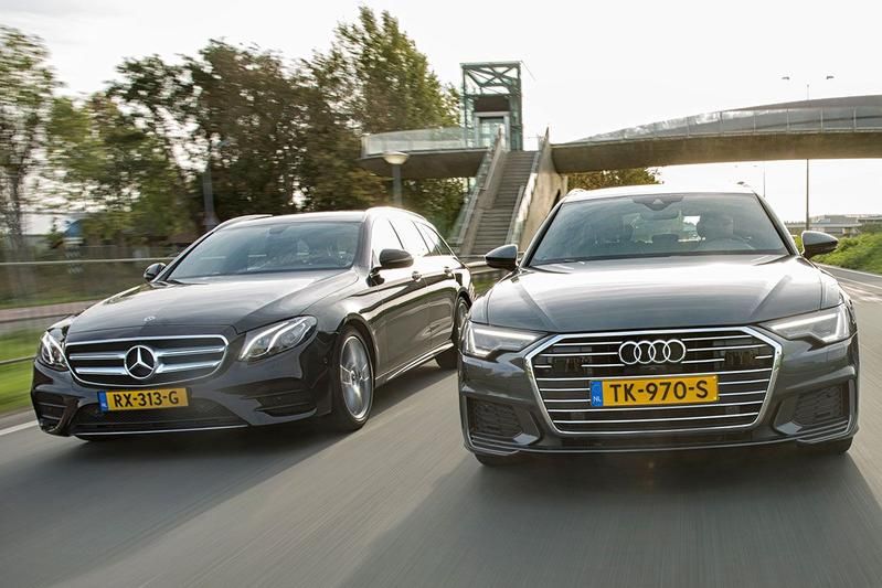 Audi A6 Avant vs. Mercedes-Benz E-Klasse Estate - dubbeltest