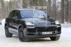 Gesnapt: nieuwe Porsche Cayenne