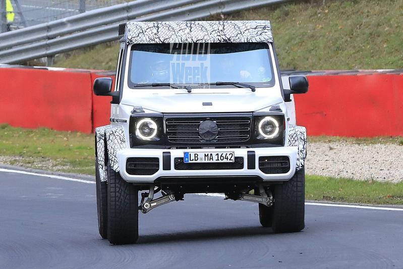 Mercedes-Benz G-klasse 4x42 spyshots