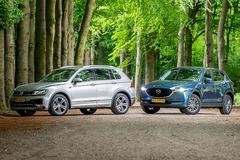 Mazda CX-5 vs. Volkswagen Tiguan - Dubbeltest