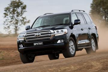 Toyota Land Cruiser gefacelift