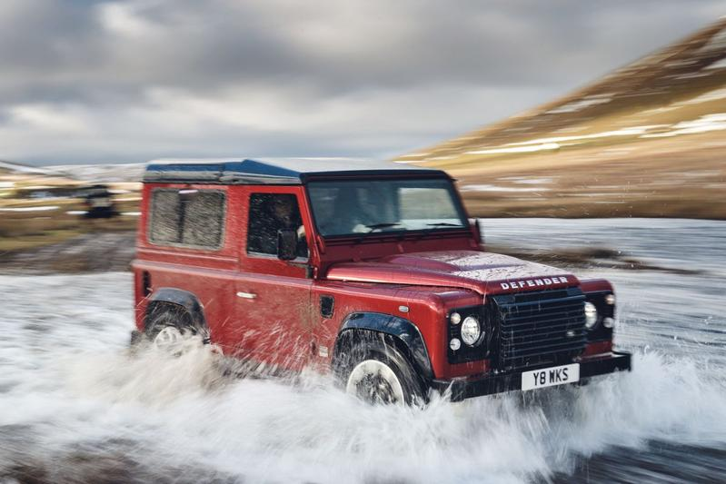 Land Rover Defender is tijdelijk terug