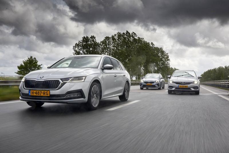Kia Ceed Sportswagon - Opel Astra Sports Tourer - Skoda Octavia Combi - Triotest