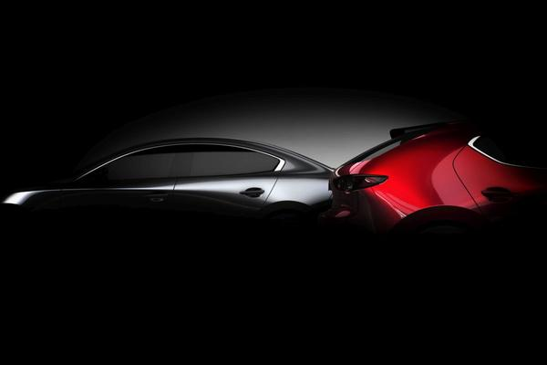 Mazda toont iets meer van nieuwe 3
