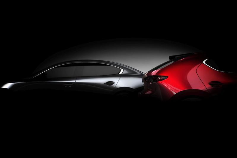 Mazda 3 teaser